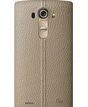 LG kožený zadní  kryt CPR-110 pro LG G4, béžový
