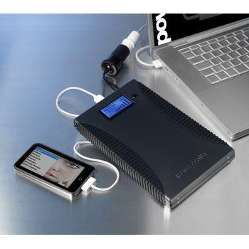 Záložný zdroj a nabíjačka Powergorilla 21000mAh - pre notebooky/netbooky/mt/PDA/GPS/MP3
