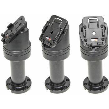 Brodit sestava otočného montážního podstavce a MultiMove clipu, výška 165 mm, sklon 45°, černý (215631)