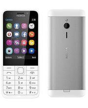 Nokia 230, bílo stříbrná